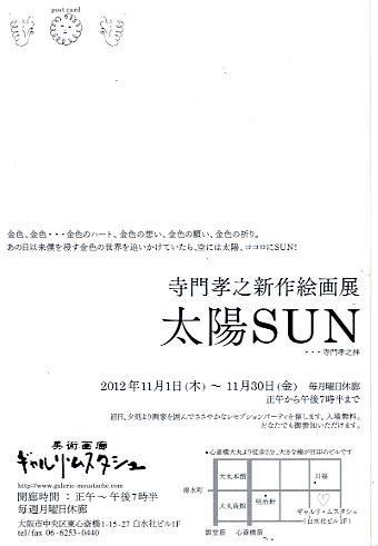 太陽SUN DM back