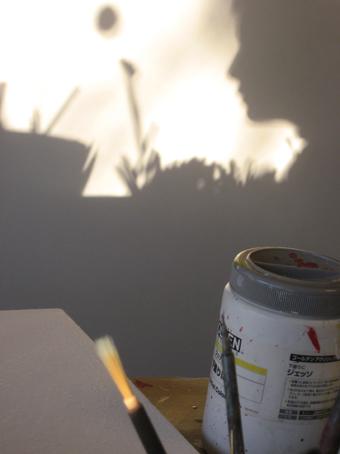 画室の影法師1