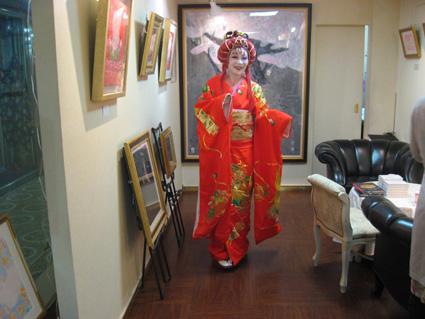 画廊の金魚姫