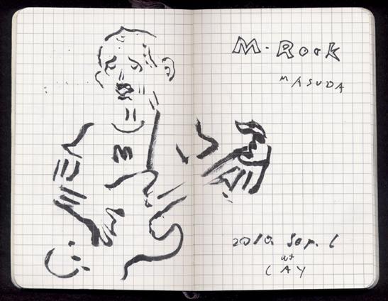 増田親分のM-Rock