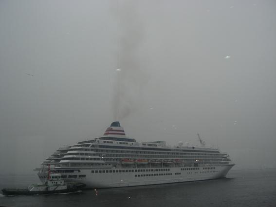 飛鳥Ⅱは白い霧の向こうへ