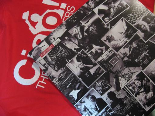moonriders アナログ盤ニューアルバムとTシャツ