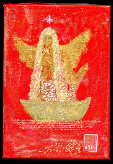 GOLDEN PRAYER BOAT