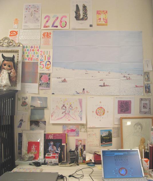 画室机上壁面310