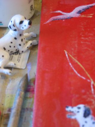 新作宝船と小さな犬たち02
