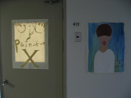 PAINTER X ROOM 誕生 ケントマエダヴィッチ君画のポスター