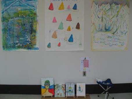 3年生福永さんの作品展示