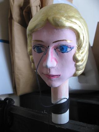 製作中の人形その1
